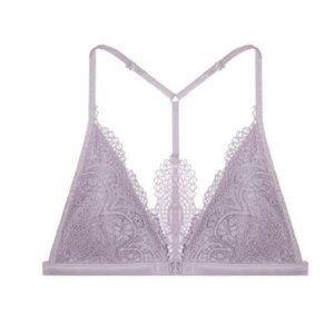 Victoria's Secret front close lace bralette